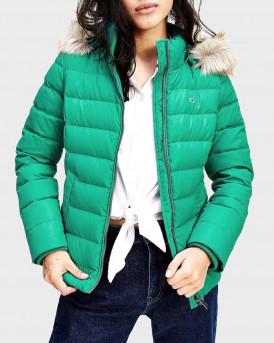 Tommy Hilfiger Μπουφάν Short Puffer Jacket - DW0DW08588 - ΠΡΑΣΙΝΟ