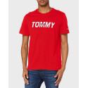 Tommy Hilfiger Graphic Print T-Shirt - DM0DM09481 - ΜΑΥΡΟ