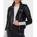Only Δερμάτινο PU Leather Look Biker Jacet - 15223755 - ΜΑΥΡΟ