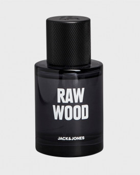 JACK & JONES EAU DE TOILETTE RAW WOOD INGREDIENTS FRAGRANCE 40ML - 12164364 - ΜΑΥΡΟ
