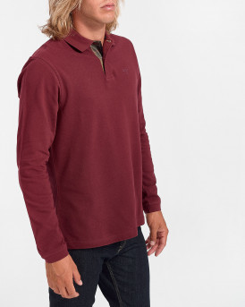 Barbour Sports Polo Long Sleeve - 3BRMML0705 - ΜΠΟΡΝΤΩ