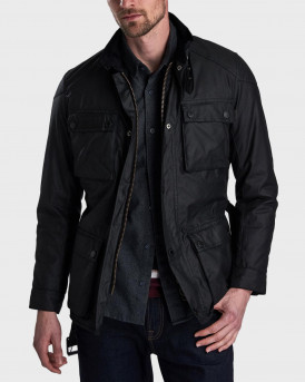 Barbour Μπουφάν International Blackwell Wax Jacket - 3BRMWX0928 - ΜΑΥΡΟ