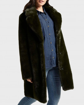 Tom Tailor Γούνινο Παλτό Soft Faux Fur Coat - 1020615.XX.70 - ΚΥΠΑΡΙΣΙ