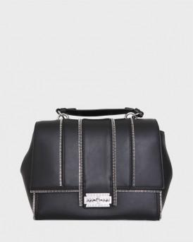John Richmond Τσάντα Hand Bag Dubeal - RWA20467BO - ΜΑΥΡΟ