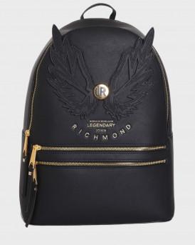 John Richmond Tσάντα Backpack Nohole - RWA20461ZA - ΜΑΥΡΟ
