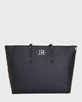 John Richmond Τσάντα Shopper Bag Mirky - RWA20351BO - ΜΑΥΡΟ