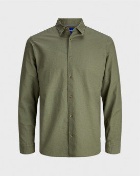 JACK & JONES JORLENNY SHIRT LS LTN - 12179483 - ΛΑΔΙ