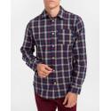 Selected Πουκάμισο Checked Shirt - 16075038 - ΜΠΛΕ