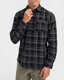 Selected Πουκάμισο Checked Shirt - 16075038 - ΛΑΔΙ