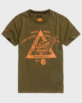 Superdry Copper Label T-Shirt - M1010374A - ΛΑΔΙ