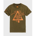 Superdry Copper Label T-Shirt - M1010374A - ΜΠΛΕ