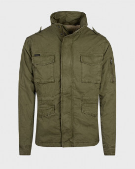 Superdry Μπουφάν Rookie Jacket In Green - M5010351Α - ΛΑΔΙ