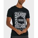 Jack & Jones Logo T-Shirt - 12175313 - ΜΑΥΡΟ