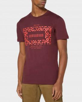Jack & Jones Logo T-Shirt - 12175313 - ΜΝΠΟΡΝΤΩ