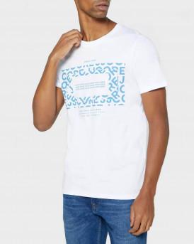 Jack & Jones Logo T-Shirt - 12175313 - ΑΣΠΡΟ
