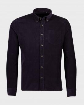 Shine Πουκάμισο Corduroy Shirt - 2-200066 - ΜΠΛΕ