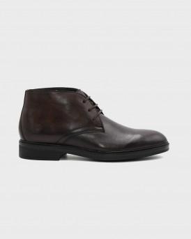 Lumberjack Ανδρικά Peckham Ankle boots - SM99703-001 PECHAM - ΚΑΦΕ
