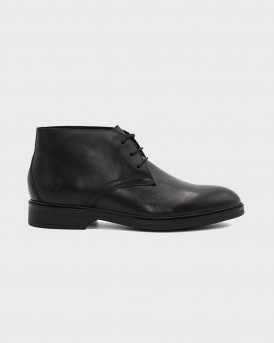 Lumberjack Ανδρικά Peckham Ankle boots - SM99703-001 PECHAM - ΜΑΥΡΟ