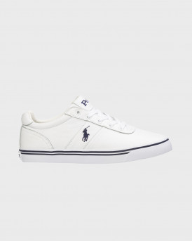 POLO RALPH LAUREN ΥΠΟΔΗΜΑΤΑ HANFORD LEATHER SNEAKERS - 816765046002 - ΑΣΠΡΟ