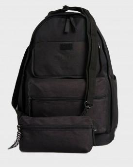 Superdry Τσάντα Pocket Rucksack - Μ9110098Α - ΜΑΥΡΟ