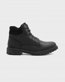 Lumberjack Μποτάκια Ankle boots - sM00101-034D01 RIVER - ΜΑΥΡΟ