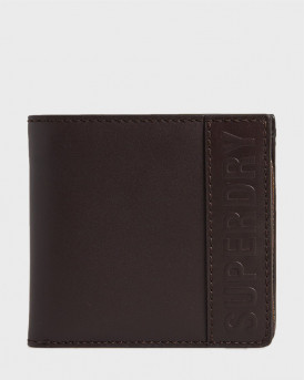 Superdry Πορτοφόλι Vermont Bifold Leather Wallet - M9810113A