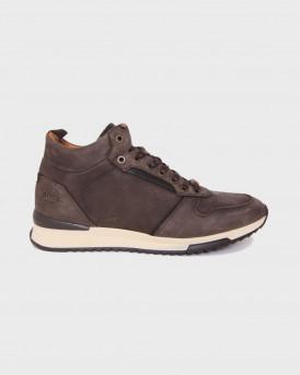 Βοss Shoes Ανδρικά Μποτάκια - M25290 - ΚΑΦΕ