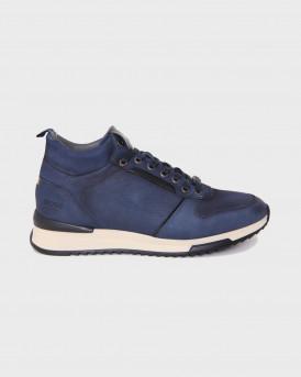 Βοss Shoes Ανδρικά Μποτάκια - M25290 - ΜΠΛΕ