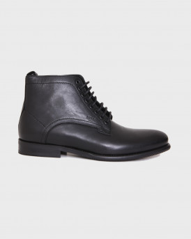 Βοss Shoes Ανδρικά Μποτάκια - Μ6221 - ΜΑΥΡΟ
