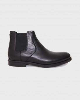 Βοss Shoes Ανδρικά Μποτάκια - Μ6220 - ΜΑΥΡΟ