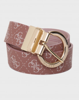 Guess Ζώνη Cammy Belt - BW7343VIN35 - ΡΟΖ