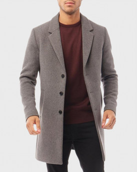 Jack & Jones Παλτό Classic Wool Coat - 12178870  - ΓΚΡΙ