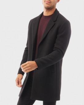 Jack & Jones Παλτό Classic Wool Coat - 12178870  - ΜΑΥΡΟ