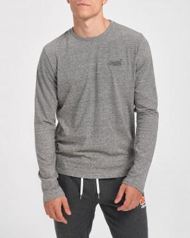Superdry Mπλούζα Longsleeve T-Shirt - Μ6010122A - ΓΚΡΙ