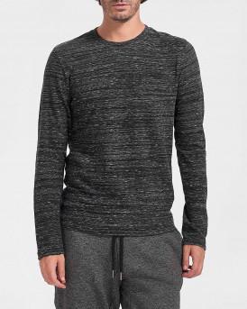 Superdry Mπλούζα Longsleeve T-Shirt - Μ6010122A - ΑΝΘΡΑΚΙ