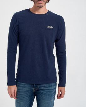 Superdry Mπλούζα Longsleeve T-Shirt - Μ6010122A - ΜΠΛΕ