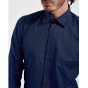 D'Zine Πουκάμισο Shirt - D-2171 - ΜΠΛΕ