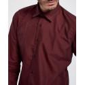 D'Zine Πουκάμισο Shirt - D-2162 - ΜΠΟΡΝΤΩ