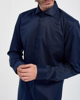 Hugo Πουκάμισο Gordon Shirt - 50289491 JASON - ΜΠΛΕ