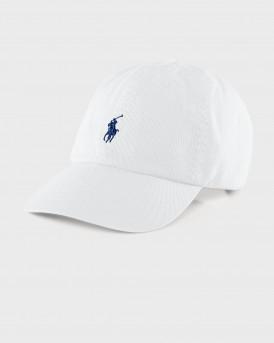 POLO RALPH LAUREN CLASSIC SPORT HAT - 710548524001 - ΑΣΠΡΟ