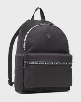 Guess Backpack - HMQUSPP1205 - MΑΥΡΟ