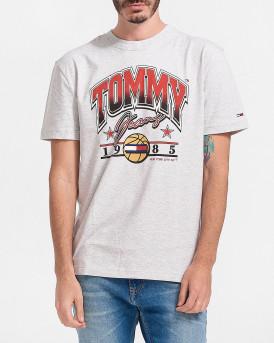 TOMMY HILFIGER ΜΠΛΟΥΖΑ - DM0DM10220 - ΓΚΡΙ
