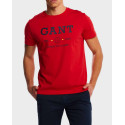 GANT NAUTICAL T-SHIRT - 2003094 - ΜΠΛΕ