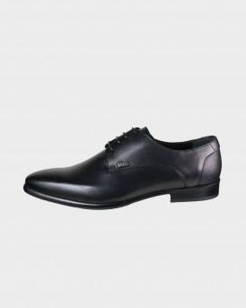 BOSS SHOES Men Formal Shoes - Q6383 - ΜΑΥΡΟ