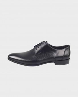 BOSS SHOES Men Formal Shoes - Q4972 PYR - ΜΑΥΡΟ