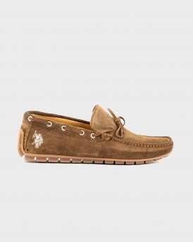 Us Polo Assn Ανδρικό Boat Shoes - CARSON - ΚΑΦΕ
