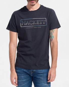Hackett Ανδρική Μπλούζα - ΗΜ500538 - ΜΠΛΕ