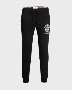 Jack & Jones Φόρμα Gordon Ralph Sweat Pants - 12180829 - ΜΑΥΡΟ