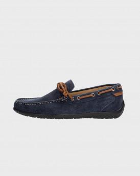 Lumberjack Ανδρικό Boat Shoes - SM40602-002 LEMAN - ΜΠΛΕ