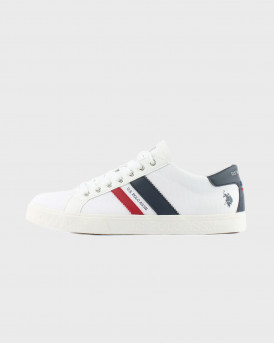 Us Polo Assn Ανδρικό Sneakers - MARCS030 - ΑΣΠΡΟ